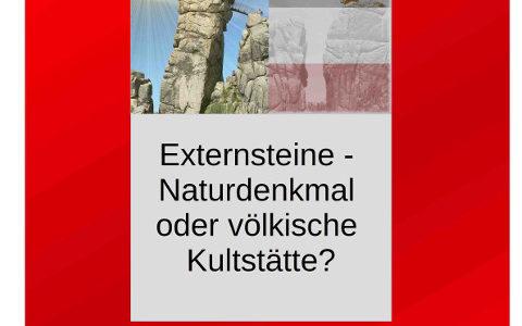 Externsteine – Naturdenkmal oder völkische Kultstätte?